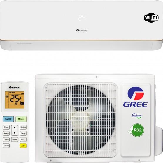 Кондиционер Gree Bora Inverter R32 GWH18AAD-K6DNA5B Wi-Fi